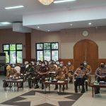 Ikuti Rakor Forkopimda, Kapolresta Tangerang Ingatkan Jangan Abai Disiplin Prokes