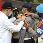 Polresta Tangerang dan 3 Pilar Laksanakan Apel Gelar Pasukan Operasi Ketupat Maung 2021