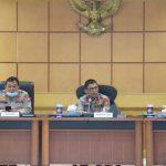 Kapolresta Tangerang Ikuti Anev Mingguan Opsnal Polda Banten