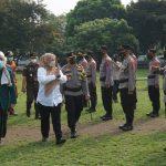 Apel Gelar Pasukan Operasi Maung 2021 Polres Pandeglang di Pimpin oleh Bupati