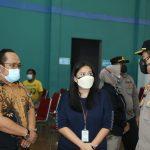 Polresta Tangerang Vaksinasi Tahap Kedua di Sport Club Citra Raya