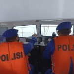 Tingkatkan Giat Patroli Di Wilayah Perairan Tanjung Kait Oleh Personel Sat Polairud Polresta Tangerang